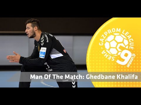 Man of the match: Ghedbane Khalifa (Vardar vs Beijing Sport University)