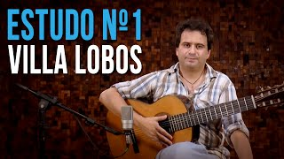 Villa Lobos - Estudo N°1 (como Tocar - Aula De Violão Clássico)