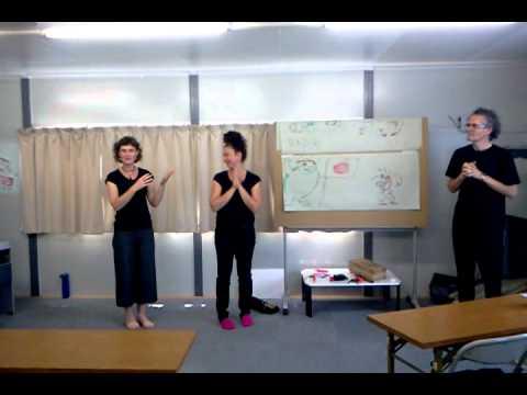 戸倉中学校仮設 絵と音楽でつなぐ橋(4)