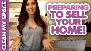Preparing To Sell Your Home: Staying Clean While Moving! (Clean My Space)