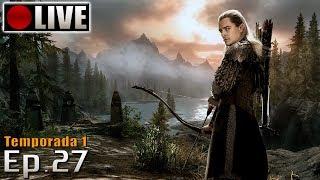 SKYRIM - Legolas Role Play! (PC - Mods - PTBR) Temporada 1 - Ep.27