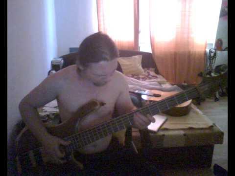 zemobass hrubostrun solo bass player - Funky groow slapem