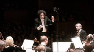 Dudamel & GSO in Mendelssohn's 3rd symphony, 2nd movement