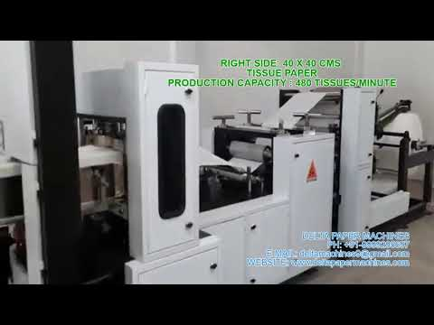 Double Header Two Size In One Tissue Paper Making Machine