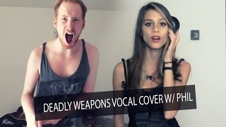 Eyes Set To Kill-Deadly Weapons (feat Craig Mabbitt) vocal cover by: Jezy.Eileen&PhiL #COVERWEEKEND