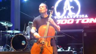 Apocalyptica Creeping Death 70000 Tons of Metal 2015