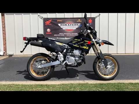 2018 Suzuki DR-Z400SM in Greenville, North Carolina - Video 1