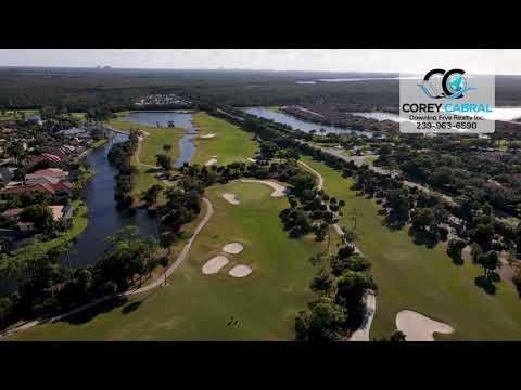 Eagle Creek Golf & Country Club Naples FL 360 aerial Real Estate Homes & Condos