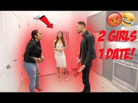INVITING 2 GIRLS ON A DATE AT THE SAME TIME PRANK!