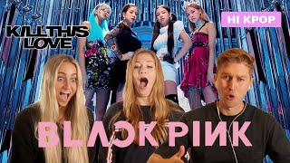 BLACKPINK Kill This Love Reaction! First Time Kpop Experience!