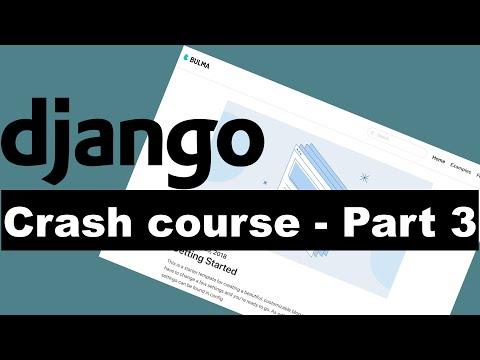 Django Crash Course Part 3 - Building a blog thumbnail