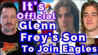 Its Official <b>Glenn Frey</b>'s Son To Join The Eagles Says Don Henley