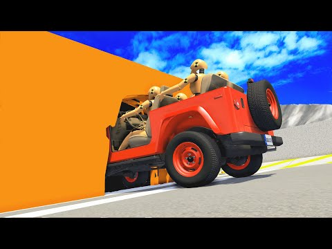 Somehow Possible cars STUNTS - Beamng Drive CrashTherapy