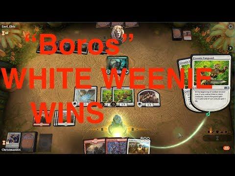 Mono White Weenie Aggro Creature Spam - MTG Arena Deck Tech