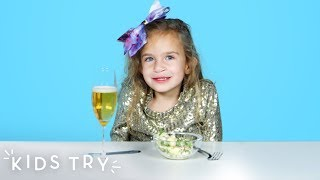Kids Try New Year's Traditions from Around the World | Kids Try | HiHo Kids