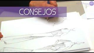 Figurín de Moda Parte 3 - Evita los errores más comunes al dibujar un figurín