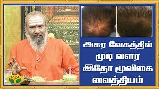 அசுர வேகத்தில் முடி வளர இதோ மூலிகை வைத்தியம் | Hair Growth Tips | Parambariya Maruthuvam