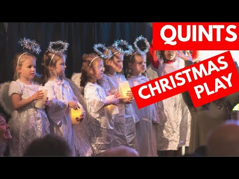 Quints Christmas play 2019