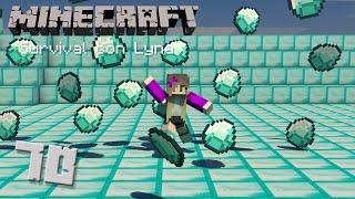 SOY RICA: ¡Tengo diamantes! ♥   Minecraft: Survival con Lyna #70