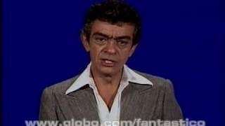 Fantástico   Chico Anysio Exercita O Seu Raciocínio   21 De Maio De 1978 Globo Play