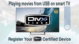 Register Your DivX Certified Device ✅