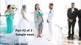 8 Tips on How to Prepare for Writing Your Wedding Vows