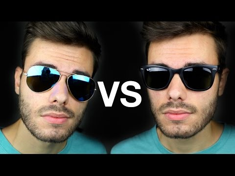 Ray-Ban Aviator vs Wayfarer