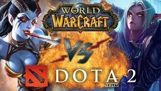 Рэп Баттл - Dota 2 vs. World of Warcraft