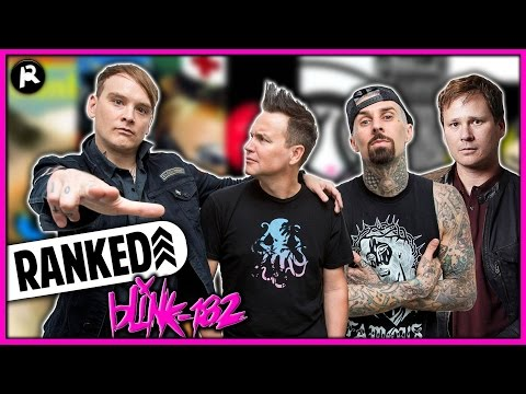 Every Blink-182 Album Ranked WORST to BEST
