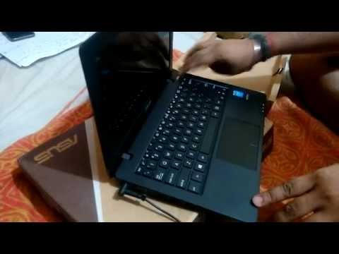 UNBOXING OF  Asus X200MA