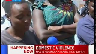 Man attacks and slashes his children in Kakamega