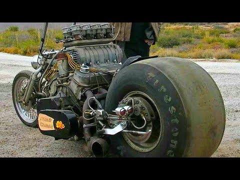 😮 Мотоциклы - СумаСшедшие Самоделки 👏