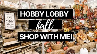 Come Shop With Me At Hobby Lobby! || Fall 2020