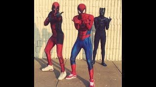 Marvel Characters Dance To  TAY K X THE RACE #FREETAYK