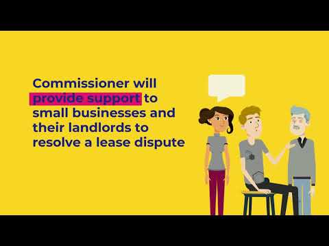 , title : 'Queensland's new Small Business Commissioner
