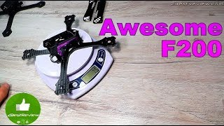 ✔ Awesome F200 - Легкая FPV Рама для Квадрокоптера! Banggood!