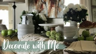 French Country Decorating Ideas Collab | Decorate With Me