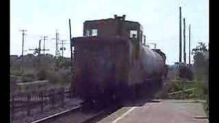 preview picture of video 'Railfanning CN, CP, at Dorval,Quebec'