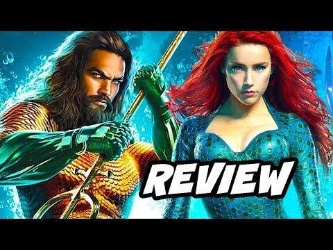 Aquaman Review NO SPOILERS and Justice League DCEU