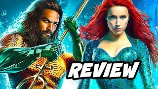 Aquaman Review NO SPOILERS and Justice League DCEU
