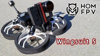 HOMFPV Wingsuit S Cinewhoop Review ????