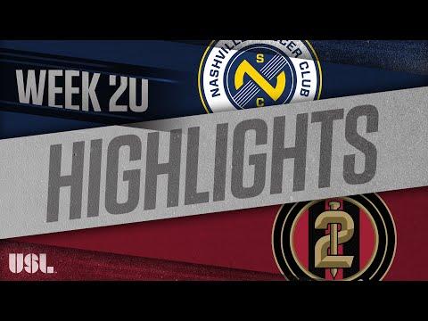 Nashville SC - Atlanta United 2 1:0. Видеообзор матча 26.07.2018. Видео голов и опасных моментов игры