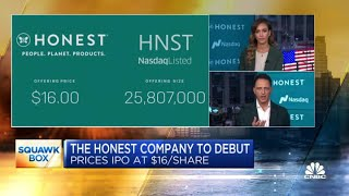 Jessica Alba on starting the Honest Company, IPO, product line and more