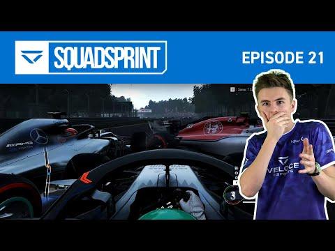 6 CAR PILE UP!!! - F1 2018 | SQUAD SPRINT Episode 21!
