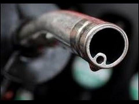 Die Preise sind auf das Benzin verringert