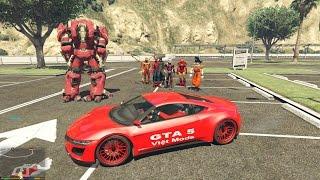 GTA 5 - Tắm biển Vũng Tàu cùng Biệt đội Người Nhện (Spiderman)