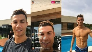 Cristiano Ronaldo | Instagram Live Stream | 4 MAY 2017