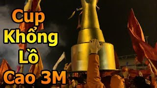Thử Thách Bóng Đá DKP đi bão ăn mừng Quang Hải Đặng Văn Lâm và ĐT Việt Nam vô địch AFF CUP 2018
