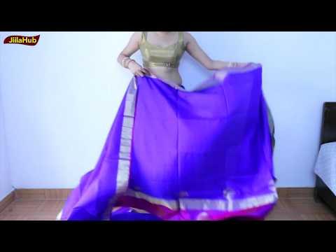How To Drape Silk Saree Easily | Wear Sari Perfectly & Get Proper Pleats, Look Slim & Tall -Jiilahub