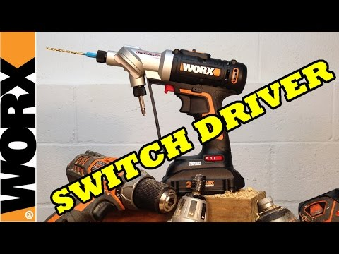WORX Switchdriver Cordless Drill & Driver Combo WX176L Video Review
